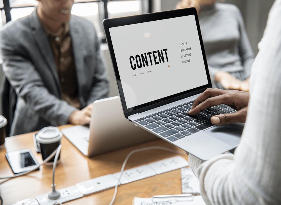 Marketing de contenido para empresas y negocios